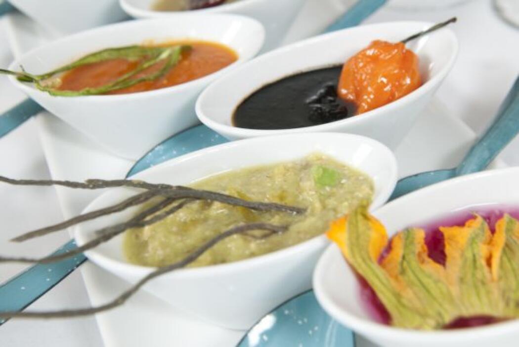 En México visitó Dulce Patria, de la chef Marta Ortiz Chapa. En el que c...