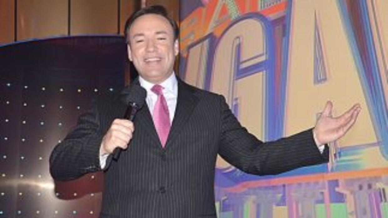 El co presentador de Sábado Gigante.