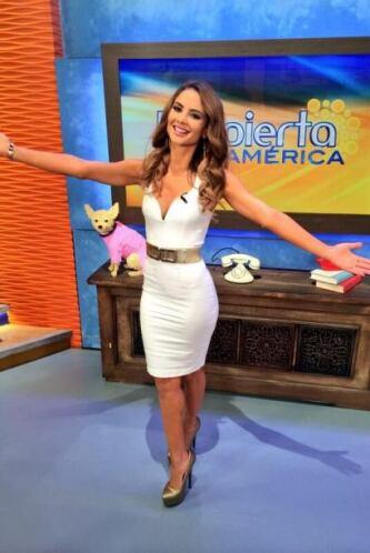"""""""Estoy feliz de estar con ustedes en @DespiertaAmeric LOS QUIEROOOO"""", di..."""