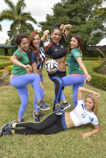 Las chicas de Nuestra Belleza Latina dejaron claro que una de sus pasion...