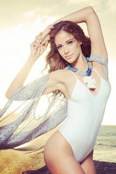 Aleyda está disfrutando de su faceta como Nuestra Belleza Latina y todos...