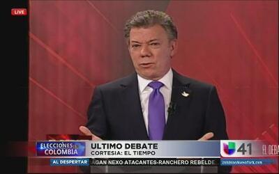 Candidatos debaten antes de segunda vuelta