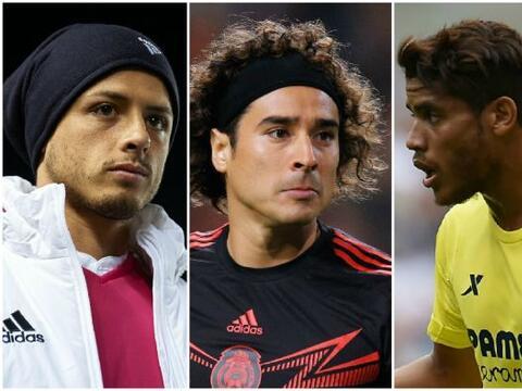 Varios de los futbolistas mexicanos que buscan el 'sueño europeo'...