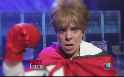 Pilar llegó lista a batallar en el debate hasta que tuvo que entregar su...