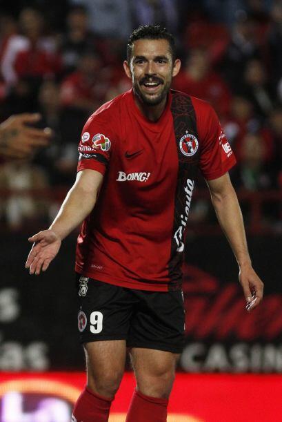 El delantero Hérculez Gómez fue campeón con Santos...