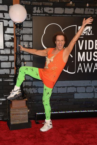Richard Simmons creyó que los Video Music Awards eran un concurso...