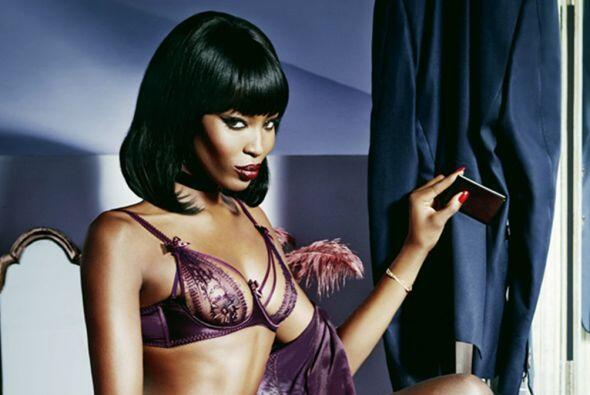 Naomi Campbell decidió incendiar el internet con estas sensuales fotogra...