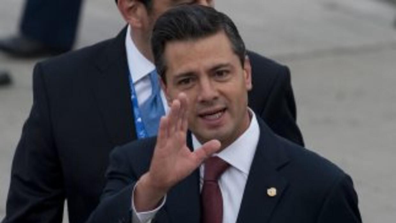 El presidente mexicanoEnrique Peña Nieto.