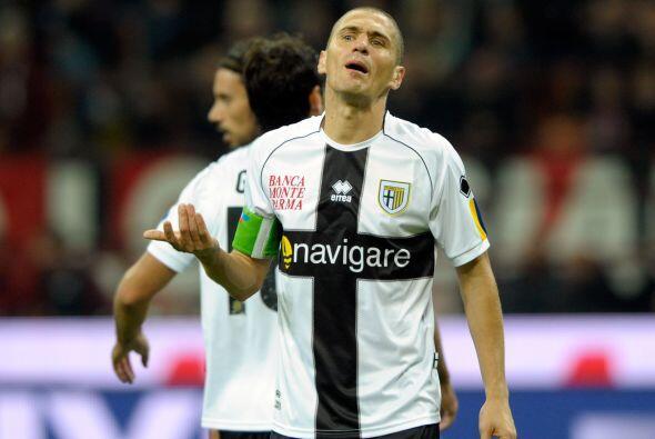 El Parma no sabía cómo contrarrestar lo que sucedía en el campo.