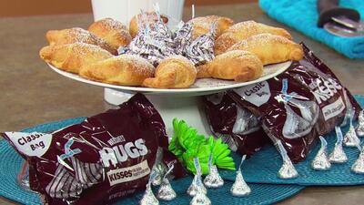 Receta de cuernitos con chocolate