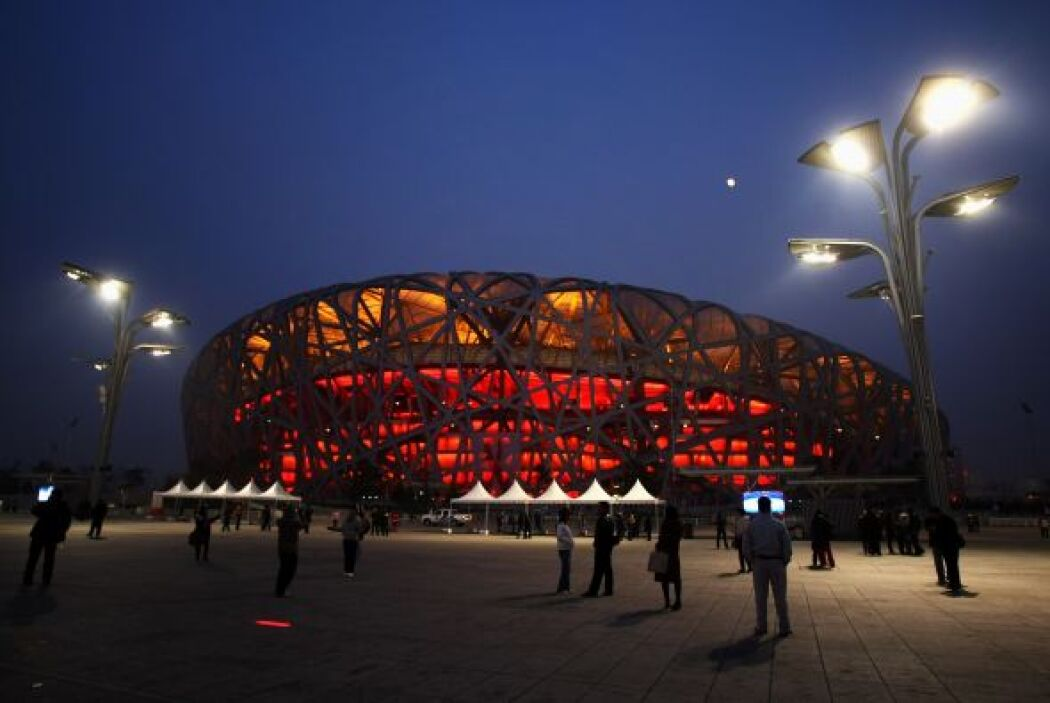 El estadio olímpico de Pekín