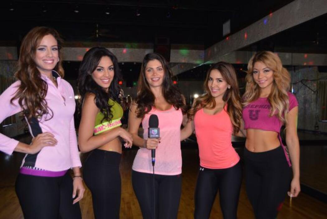 La conductora de Nuestra Belleza Latina quiso compartir con las finalist...