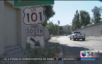 Reabren la autopista 101 cuatro horas antes de lo planeado