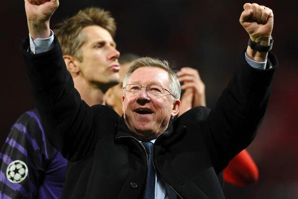 Con esto, el Manchester United de Alex Ferguson vuelve a disputar una Fi...