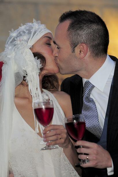 En la boda estuvo presente su hija Valeria, quien acaba de cumplir su pr...
