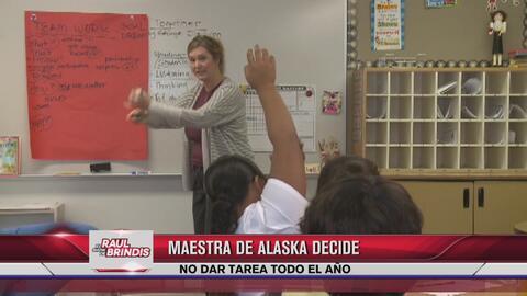 Maestra decide no dejar tareas a sus alumnos durante todo el año