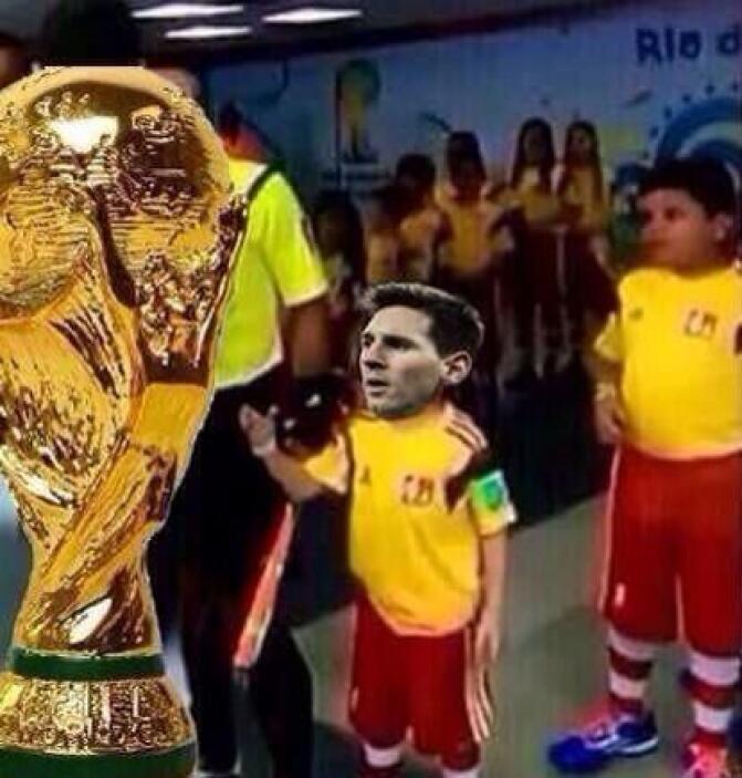 ¿Qué se siente, Messi? Mira aquí los videos más chismosos.