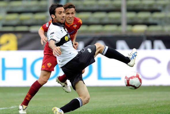 El Parma había conseguido el empate a los 75 minutos de juego.