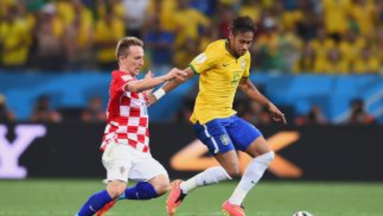 La inauguración del Mundial Brasil 2014 y el primer juego del anfitrión...