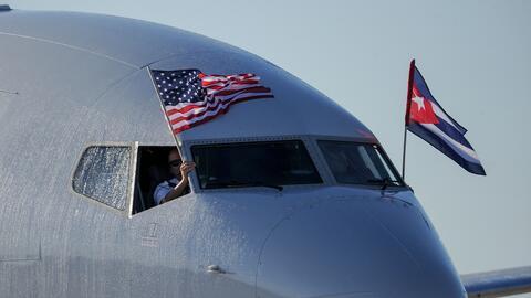 El pasado 31 de agosto se reanudaron los vuelos comerciales entre Cuba y...