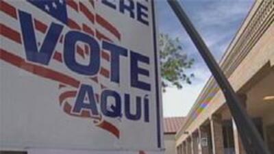 Casillas para votar en la ciudad de Tucson