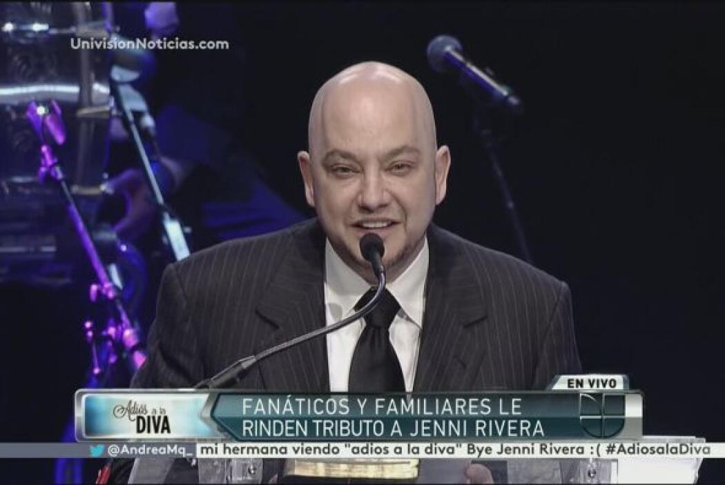Pepe Garza mostró su agradecimiento por la amistad con Jenni Rivera.