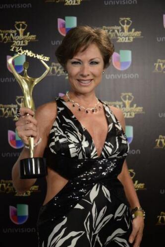 Lety Calderón se llevó el premio a la Mejor Villana.