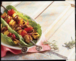 Brochetas de Verduras: Si te gusta el sabor de la parrilla en carnes y v...