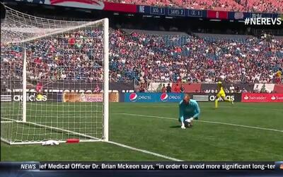 Riflazo de Ola Kamara abre el marcador en Gillette Stadium