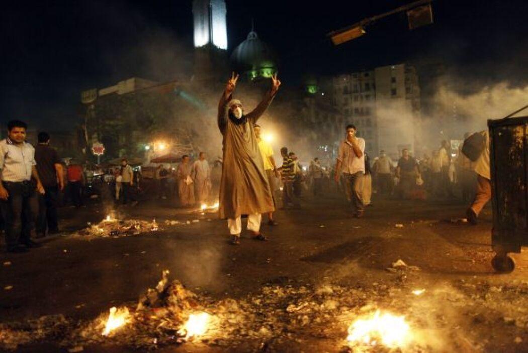 Además, hubo otros dos muertos y 134 heridos en la céntrica plaza Ramsés...