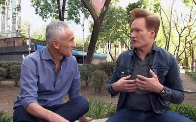 Conan O'Brien dice que las palabras de Trump no reflejan lo que los esta...