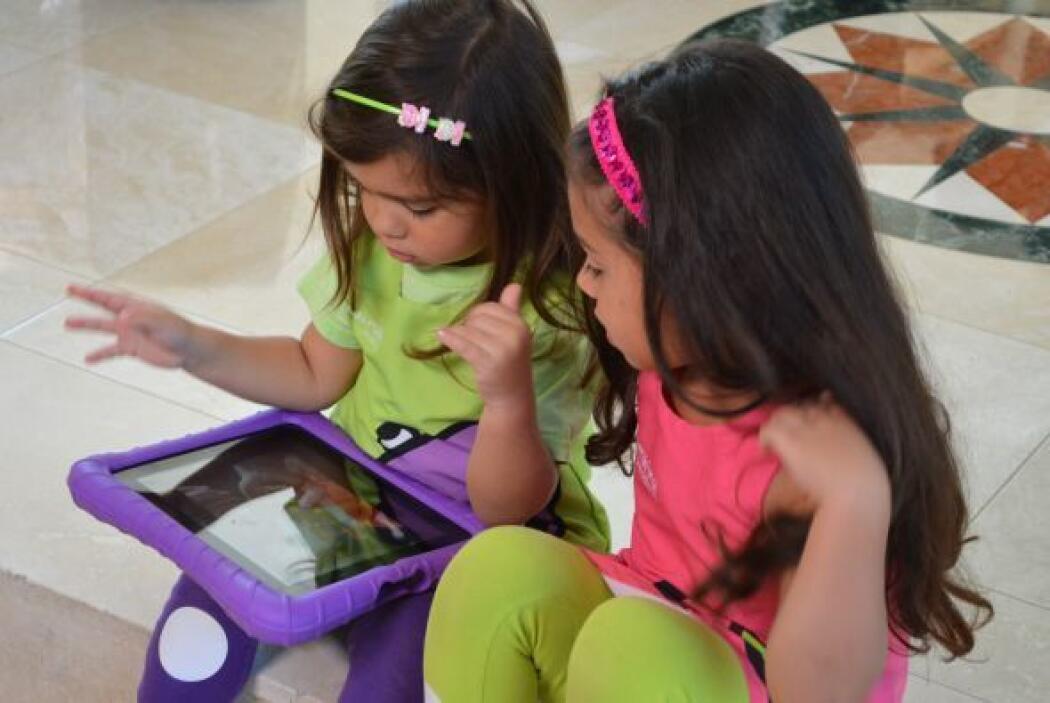 Camila y Mía, como todas las niñas, tienen diferentes formas de aprender...