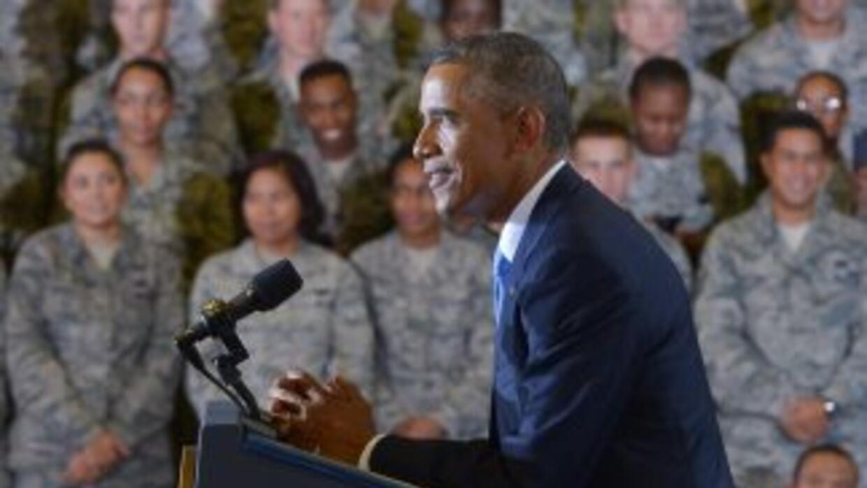 Obama destacó la responsabilidad de las fuerzas castrenses.