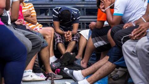 La policía salvadoreña sorprendió con una megaoperación contra la Mara S...