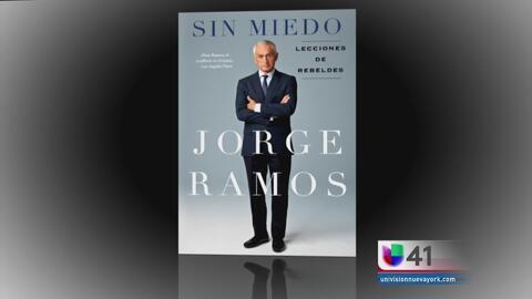 Jorge Ramos presentará su nuevo libro en Nueva York