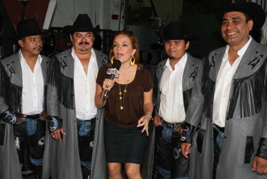 La Banda Machos será reconocida como el artista de la semana.
