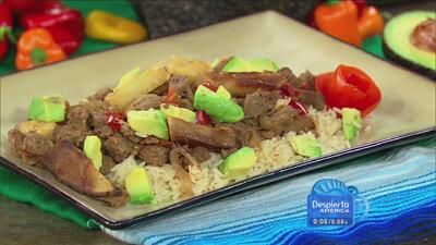 """Gustavo Chávez, """"El Chile Mayor"""" nos prepara un delicioso bistec a la Me..."""