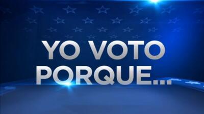 'Yo voto porque…', conoce las razones para votar