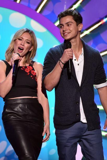 Hilary Duff y Jake T. Austin
