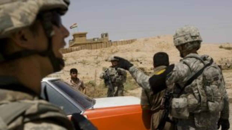 La última brigada de combate de Estados Unidos abandona Irak rumbo a Kuw...