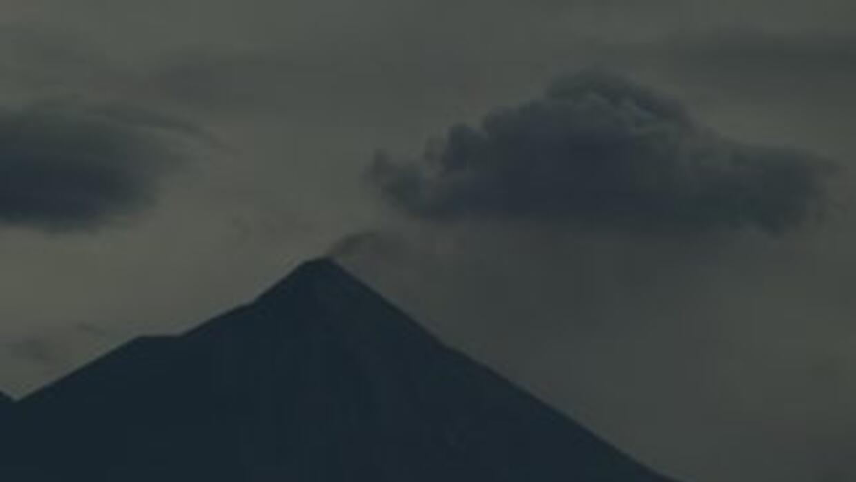 Las autoridades vulcanológicas de Guatemala advirtieron sobre el posible...