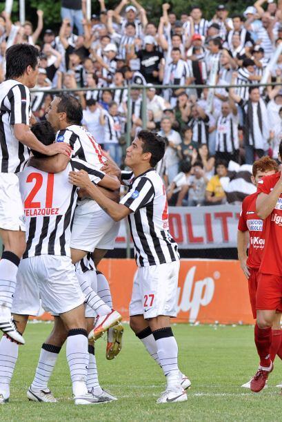 Los cinco goles del campeón fueron obra de  Pedro Sarabia, de pen...