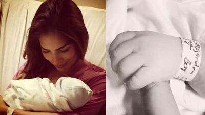 ¡Nació el bebé de Ale Espinoza! #BienvenidoMatteo