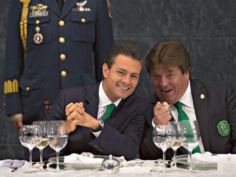 La Selección mexicana de fútbol estuvo este 15 de julio de...