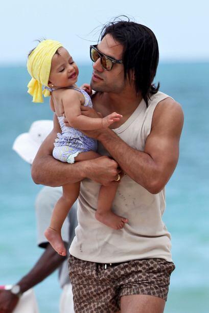 ¡Es un papá muy cariñoso! Todos sobre el Mundial de Brasil 2014.