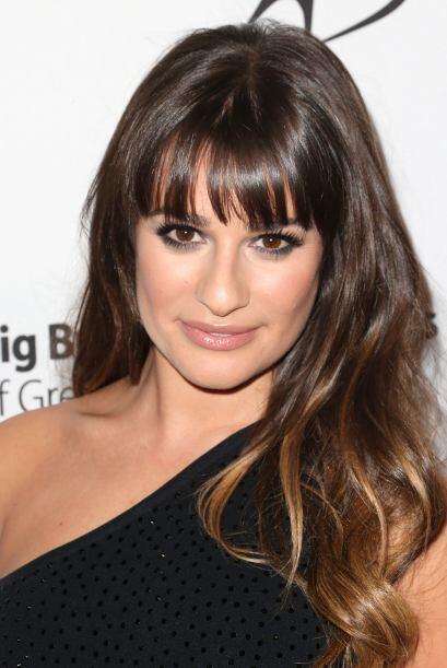 El accesorio secreto para que Lea Michele se vea sensual y 'glamourosa'...