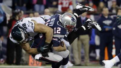 Eagles 35-28 Patriots: Grandes errores de Tom Brady para enorme sorpresa...