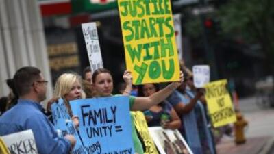 Activistas en Denver protestaron por el alto índice de encarcelamiento e...