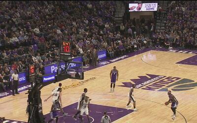 Los Kings de Sacramento estrenaron su nueva arena en el Golden 1 Center...