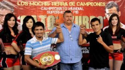 Guerrero hará la primera defensa del título ante Sánchez (Foto: Zanfer).